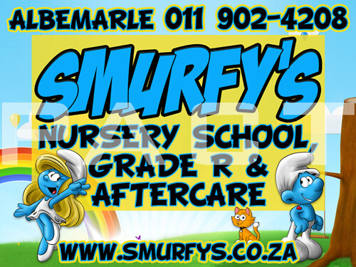 Smurfy's Car Magnets